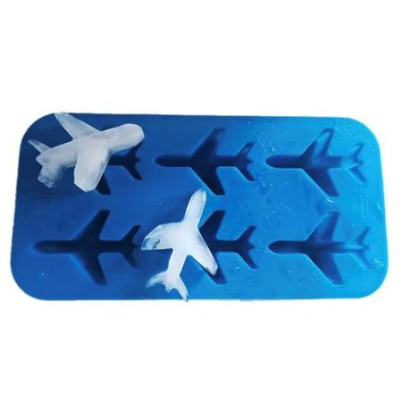 Eiswürfel Silikonform Flugzeug