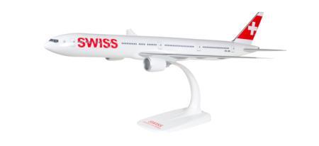 Herpa Snap-Fit Flugzeugmodell Swiss International Air Lines Boeing B777-300ER (1:200)