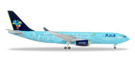 Herpa Wings Flugzeugmodell Azul Airbus A330-200