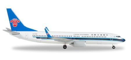 Herpa Wings Flugzeugmodell China Southern Airlines Boeing B737-800 (1:500)