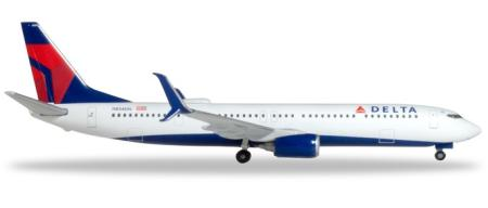 Herpa Wings Flugzeugmodell Delta Air Lines Boeing B737-900ER (1:500)