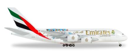 Herpa Wings Flugzeugmodell Emirates Airbus A380-800