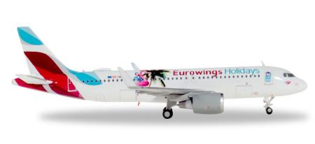 Herpa Wings Flugzeugmodell Eurowings Airbus A320