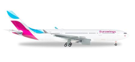 Herpa Wings Flugzeugmodell Eurowings Airbus A330-200 (1:200)