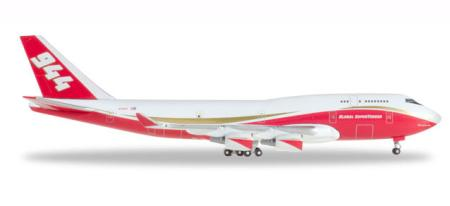 Herpa Wings Flugzeugmodell Global Supertanker Services Boeing B747-400 (1:500)