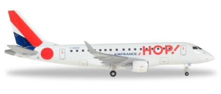 Herpa Wings Flugzeugmodell Hop! for Air France Embraer E170 (1:400)