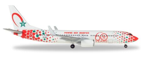 Herpa Wings Flugzeugmodell Royal Air Maroc Boeing B737-800