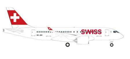 Herpa Wings Flugzeugmodell Swiss International Air Lines Airbus A220-100 (1:500)