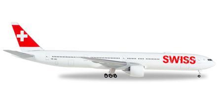 Herpa Wings Flugzeugmodell Swiss International Air Lines Boeing B777-300ER (1:500)
