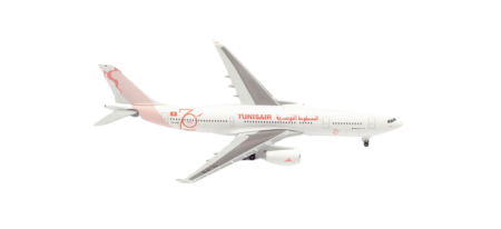 Herpa Wings Flugzeugmodell Tunisair Airbus A330-200 (1:500)