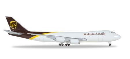 Herpa Wings Flugzeugmodell UPS Airlines Cargo Boeing B747-8F (1:500)